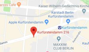 Link zur Google Maps Adresse der Praxis von PD Dr. med. Friederike Siedentopf